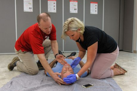 Red Cross standard First Aid Course