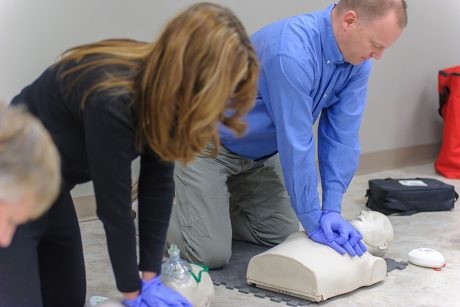 Red Cross CPR Course