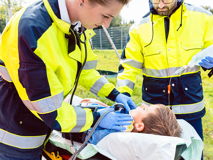 Emergency Medical Responder Red Cross Course