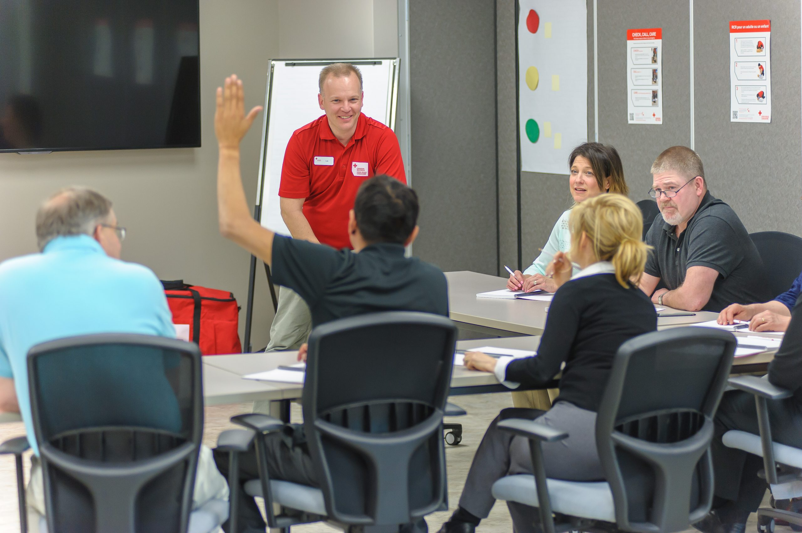 Red Cross Instructor | Lifesavers First Aid Training